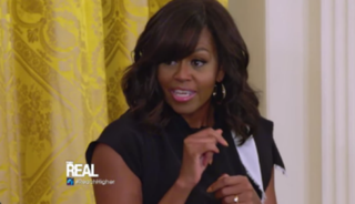 Michelle Obama            YouTube Screenshot