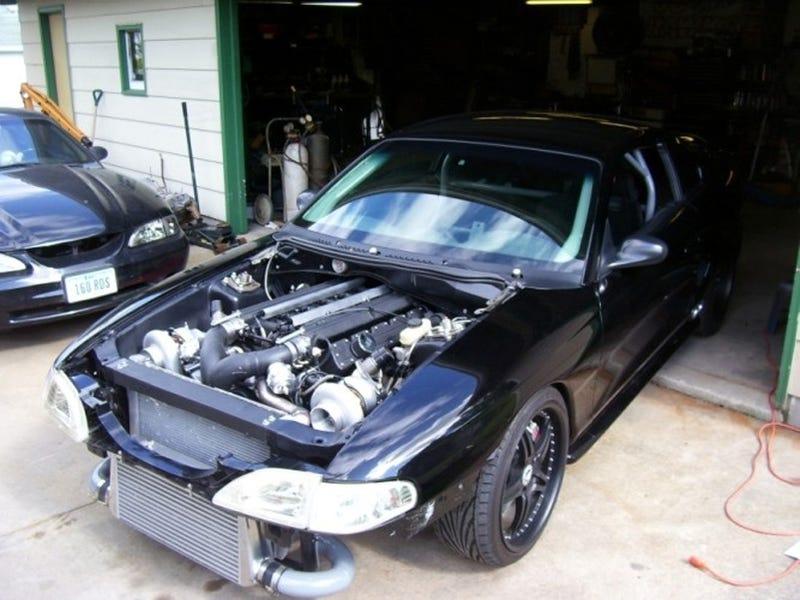 Frankensnake Update Twin Turbo Viper V10 Powered Mustang
