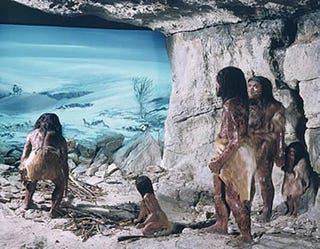 Illustration for article titled Murder scene might reveal why Neanderthals went extinct