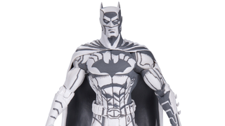 Illustration for article titled This Gorgeous Batman Figure Looks Like A 3-D Sketch