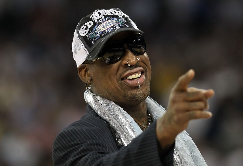Dennis Rodman in 2011Ronald Martinez/Getty Images