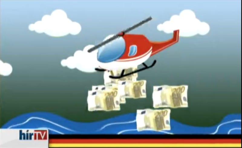 Illustration for article titled A HírTV visszaadta a német rajzfilm pofonját