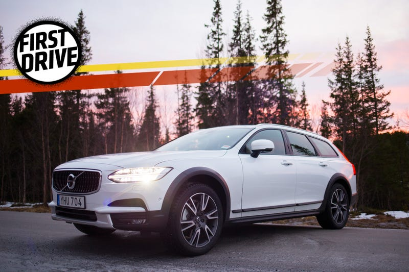 The 2017 Volvo V90 Cross Country Is The Lifted Wagon For People Who