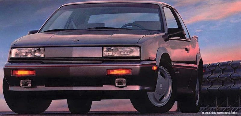 Illustration for article titled Great Early 90's American Cars - The Oldsmobile Cutlass Calais 442