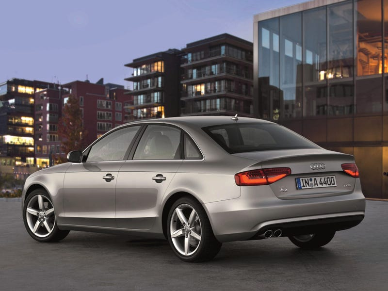 Illustration for article titled Saw a new-ish Audi A4 (2012) on the way home.