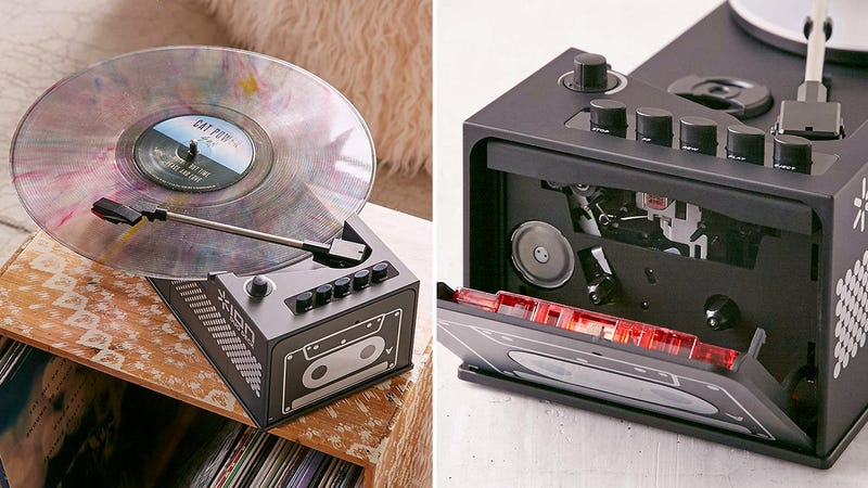 Illustration for article titled We Just Reached Peak Urban Outfitters With a Cassette-Playing Turntable