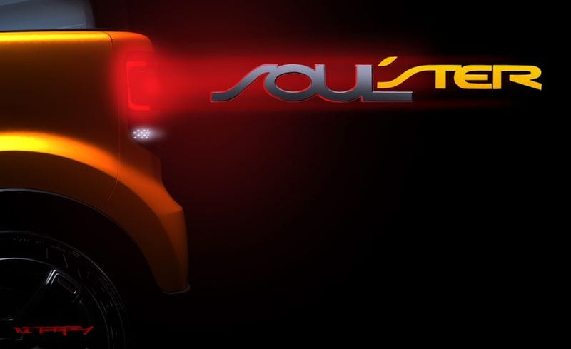 Illustration for article titled Kia Unleashes Soulster Concept Teaser