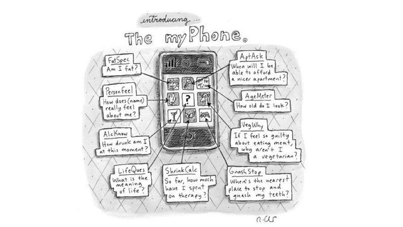Illustration for article titled Did a New Yorker Cartoonist Predict Today's Apps in 2009?