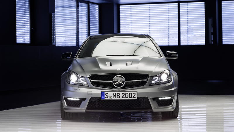 Illustration for article titled Mercedes-Benz C63 AMG Edition 507: A Black Series For The Masses