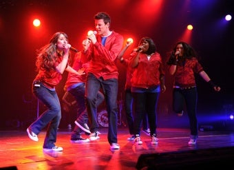 """Illustration for article titled Out Of The Drama Hallway And Into The Spotlight: Meet """"The Glee Generation"""""""