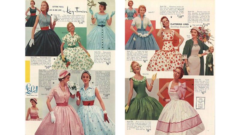 Illustration for article titled Let's Shop for Summer Dresses in the 1950s