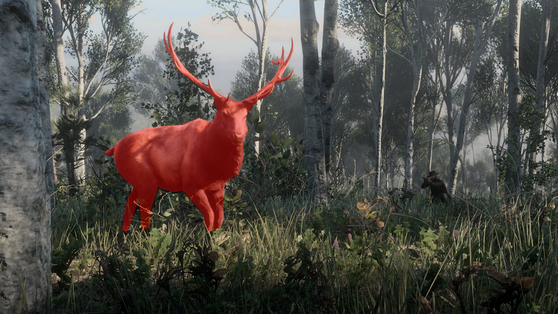 Illustration for article titled The Most Fearsome Beasts In Red Dead Redemption 2 Are The Deer