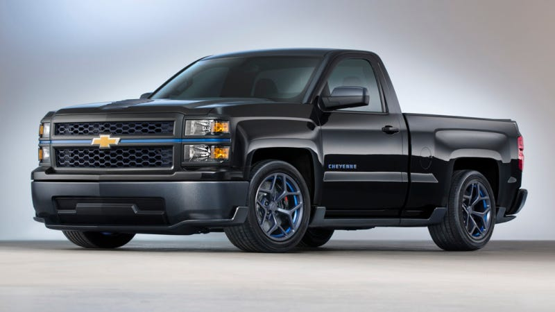 Ilration For Article Led The 420 Hp Chevrolet Silverado Cheyenne Is V8 Trucklet You Need