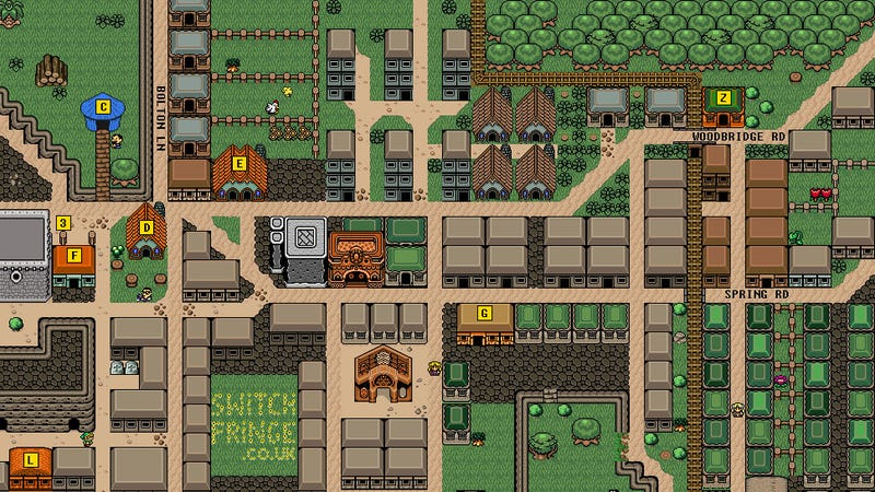 Illustration for article titled An Entire British Town Has Been Turned Into A Zelda Map