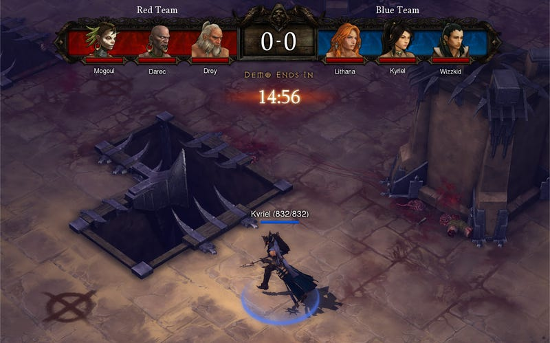Illustration for article titled Diablo III Will Have Player Vs. Player Ranked Battle Arenas
