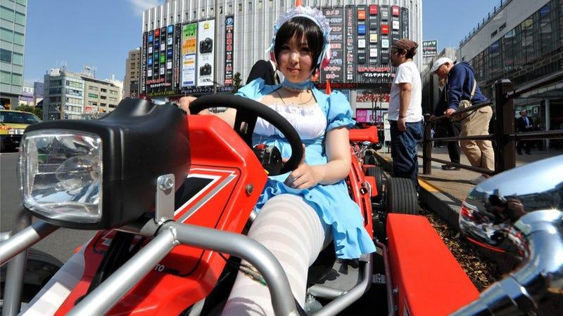 Illustration for article titled Rent Go-Karts in Tokyo's Geekiest Neighborhood