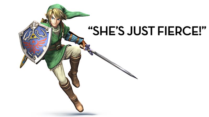 "Illustration for article titled Sorry, TV Host, That Is Not ""Zelda"""