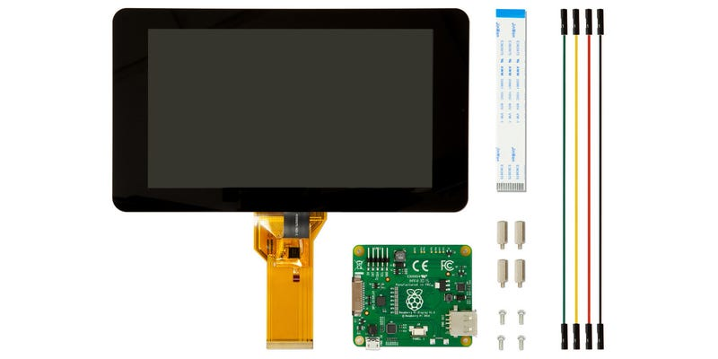 Illustration for article titled This Is the First Official Raspberry Pi Touchscreen, Yours For $60