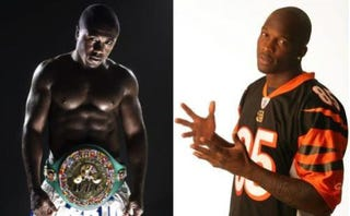Illustration for article titled Ochocinco Wants to Fight Berto, WBC Champ Guarantees A Beating