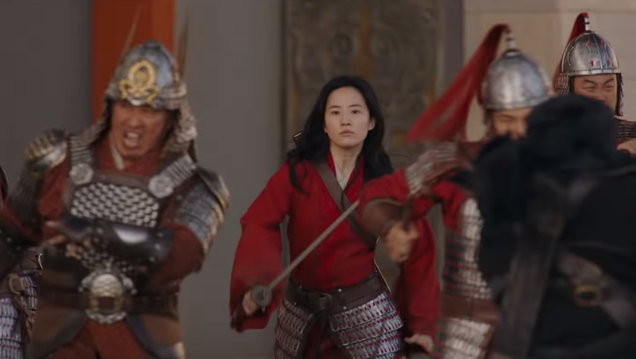 The New TV Spot for Disney s Mulan Is Mostly Her and Donnie Yen Kicking Ass