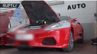 Illustration for article titled Counterfeit Ferrari And Lamborghini Shop Busted In Spain