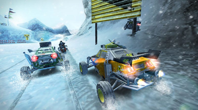 Illustration for article titled MotorStorm: Arctic Edge Hands-On: From The Land Of The Ice And Snow