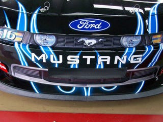 Illustration for article titled NASCAR Mustang Teased Ahead of Unveil