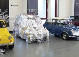 Illustration for article titled Gordon Murray's T25 City Car Revealed... Sort Of