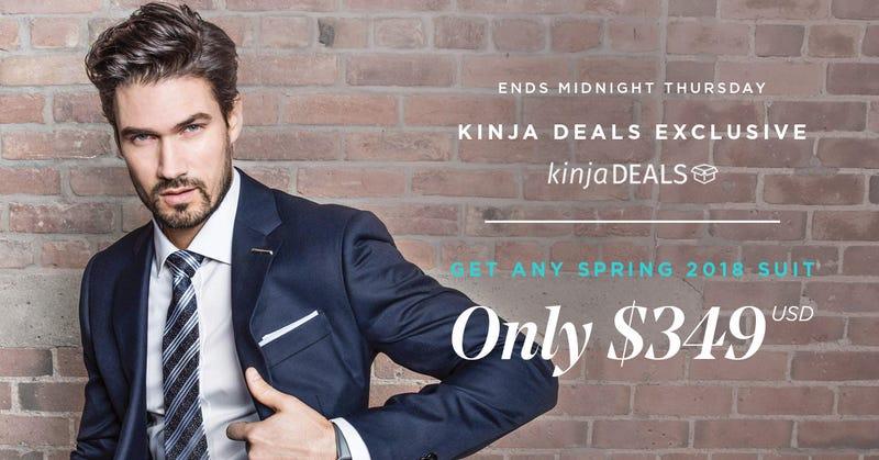 Indochino Premium Suits | $349 | Indochino | Promo code KINJA18