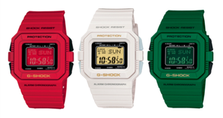 Illustration for article titled New Casio G-Shocks Love Solar, Color, World Peace, Etc