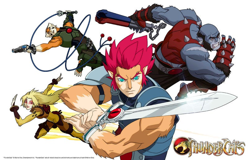 Illustration for article titled First Look at the Anime-style Thundercats UPDATED: New Image!