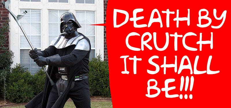 Illustration for article titled Darth Vader Given Arrest Warrant, Pleads Guilty to Assault