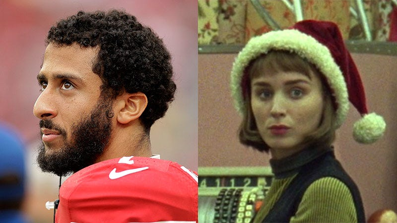 Illustration for article titled Colin Kaepernick, Like Therese Belivet, to Consider Major Career Change