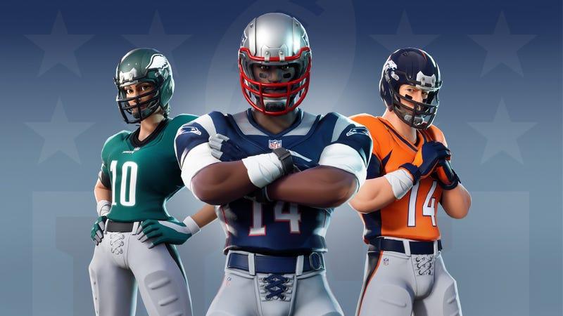 Illustration for article titled Ah Yes, Fortnite & The NFL, Together At Last