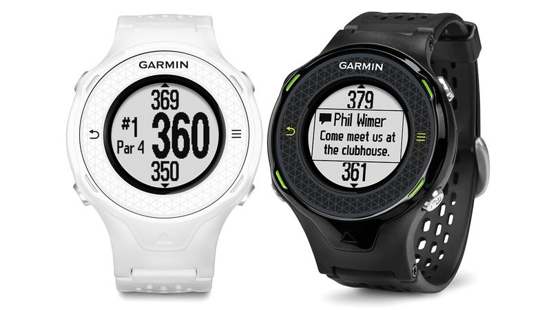 Illustration for article titled Garmin Approach S4 Lets You Keep Tabs on Email While You're Out Golfing