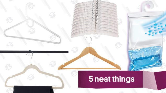 The Only Five Clothes Hangers You Need In Your Life