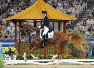 Illustration for article titled 70-Year-Old Japanese Equestrian Earns Spot In London Olympics