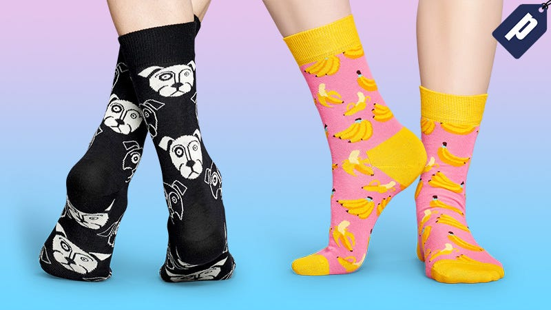 Illustration for article titled Take Up To 50% Off Fresh, Colorful Pairs From The Happy Socks Summer Sale