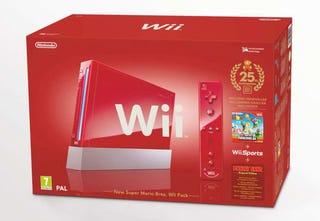 Illustration for article titled Europe Gets Red Wii Bundle