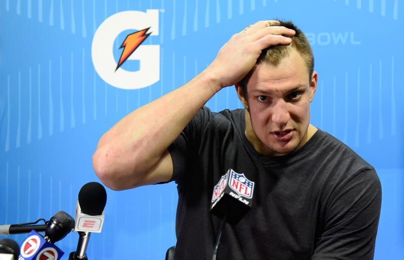 Illustration for article titled Report: Gronk Feel Like Pawn In Game Of Life