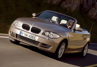 Illustration for article titled BMW 1-Series Convertible Revealed, To Hit the US in 2008