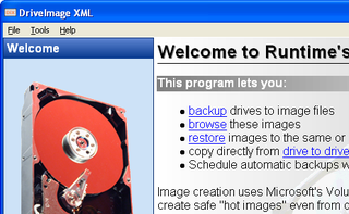 Illustration for article titled Hot Image Your PC's Hard Drive with DriveImage XML