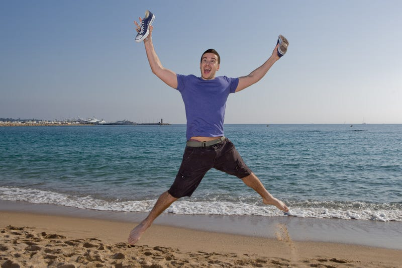 He's  spent a lot of time on the beach, which is a good start. (Photo: Frederic Nebinger/Getty Images)