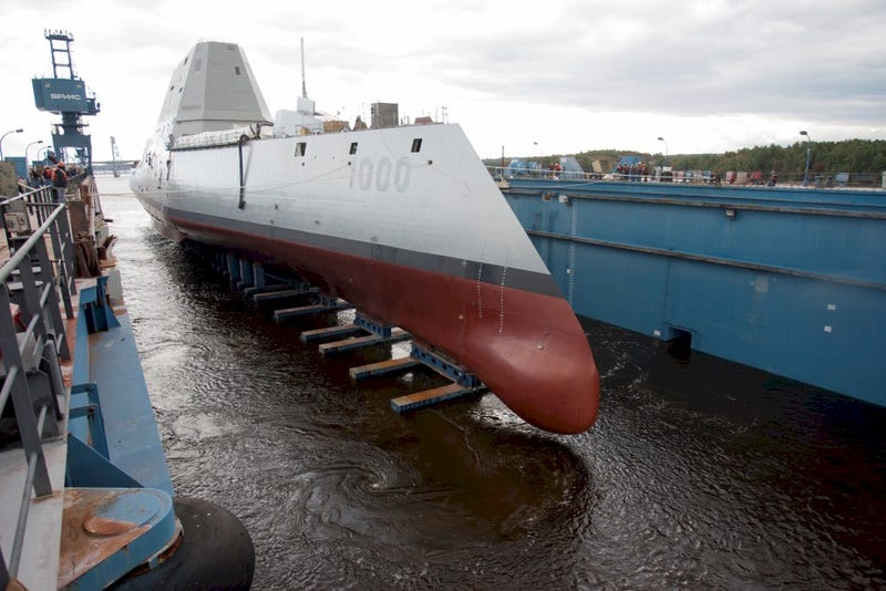 Illustration for article titled Navy's New Stealth Destroyer to be Commanded by...