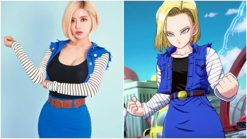 Illustration for article titled DJ Does An Excellent Cosplay Of Dragon Ball's Android 18