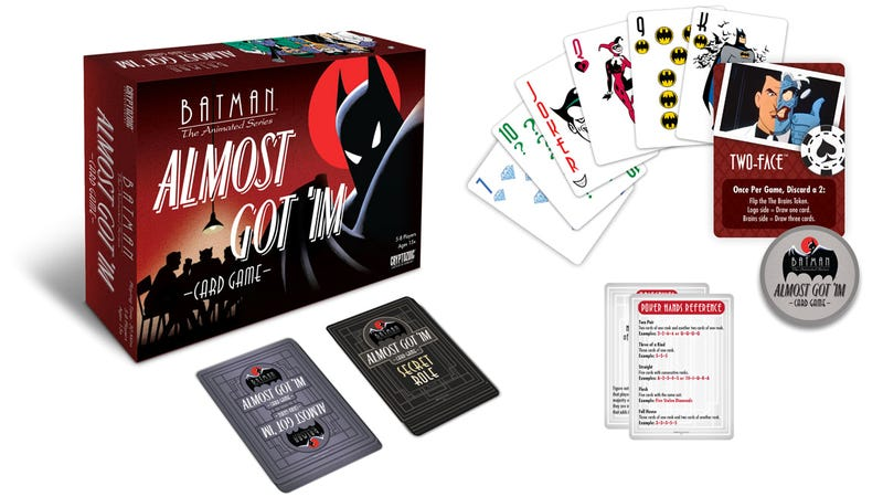 Illustration for article titled One of Batman: The Animated Series' Best Episodes Comes to Life in This Card Game