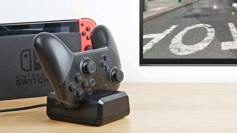 AmazonBasics Charging Dock for Switch Pro Controller | $5 | Amazon