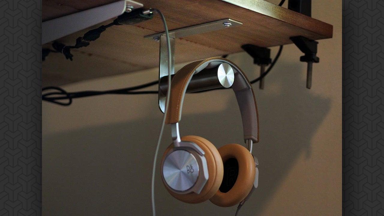 Hang Your Headphones Under Your Desk With This Ikea Hook
