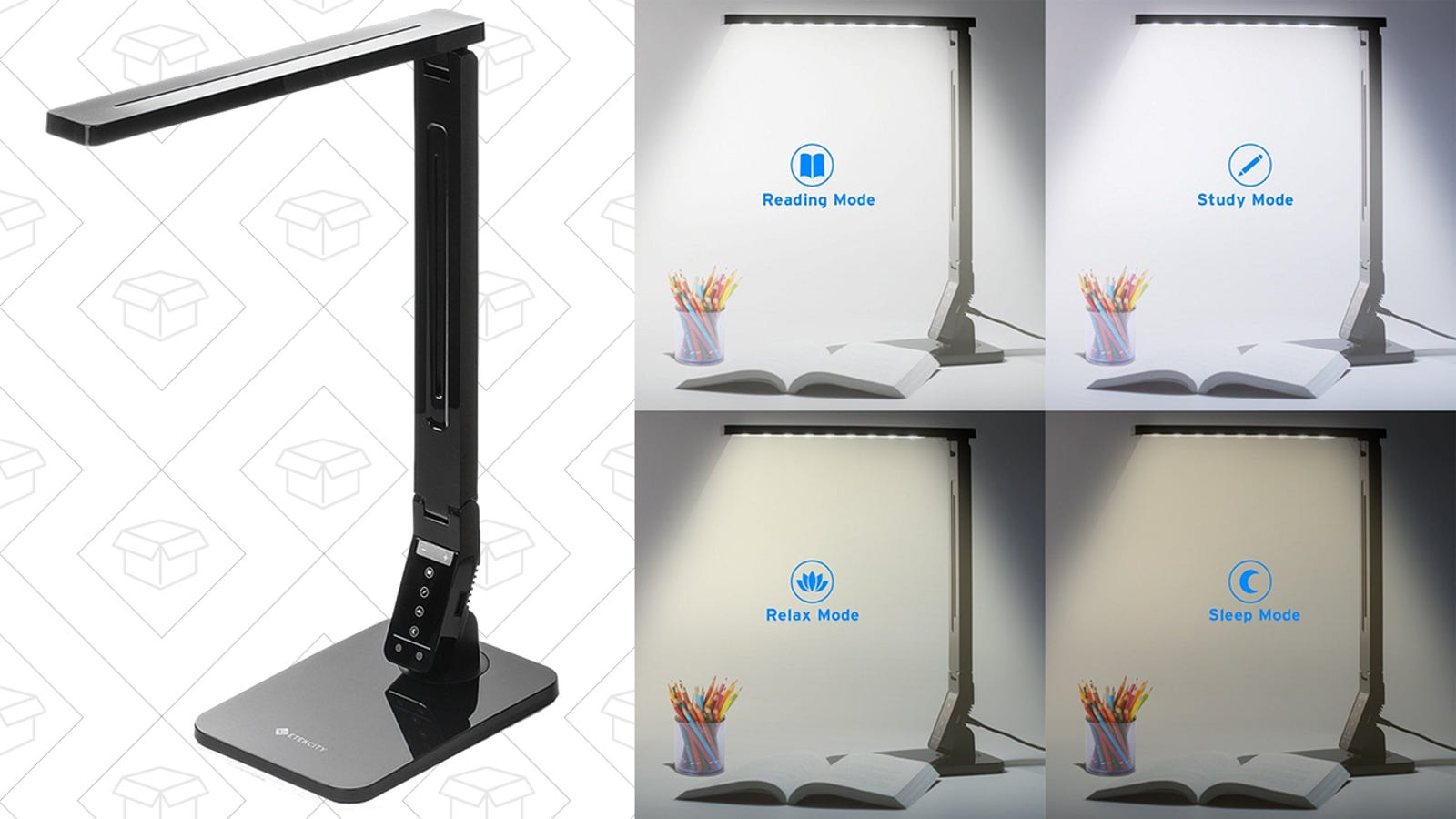 This Color Temperature Changing Desk Lamp Can Also
