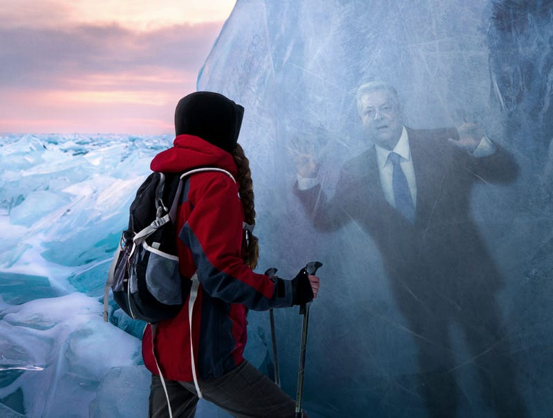 Illustration for article titled Arctic Scientists Discover Perfectly Preserved Al Gore Frozen In Glacier